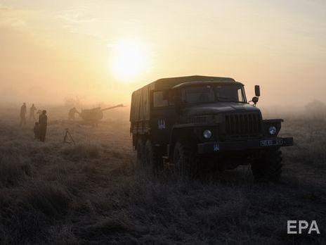 Среди украинских военных потерь на Донбассе за сутки нет