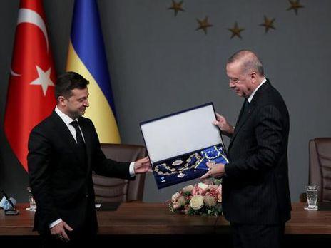 """Эрдоган поблагодарил Зеленского """"за прекрасный жест"""""""