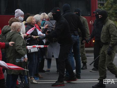 Протести в Білорусі тривають із 9 серпня