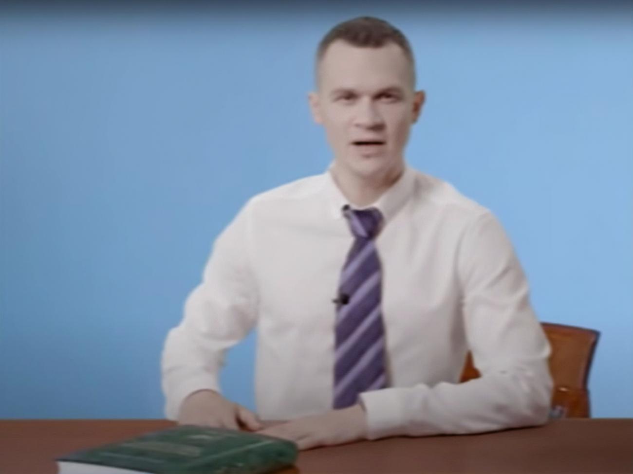 Кучер снял пародию на знаменитый ролик Добкина и Кернеса. Видео / ГОРДОН
