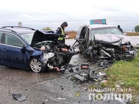 Аварія сталася на київській трасі