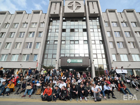 Білоруські студенти влаштовували сидячі акції на підтримку затриманих