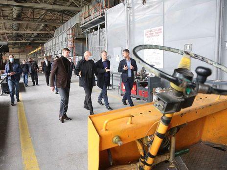 Более 40% продукции Броварского алюминиевого завода идет на экспорт, рассказал руководитель предприятия политикам