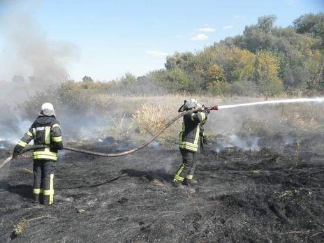 8 октября пожары были ликвидирвоаны, заявляли в ГСЧС