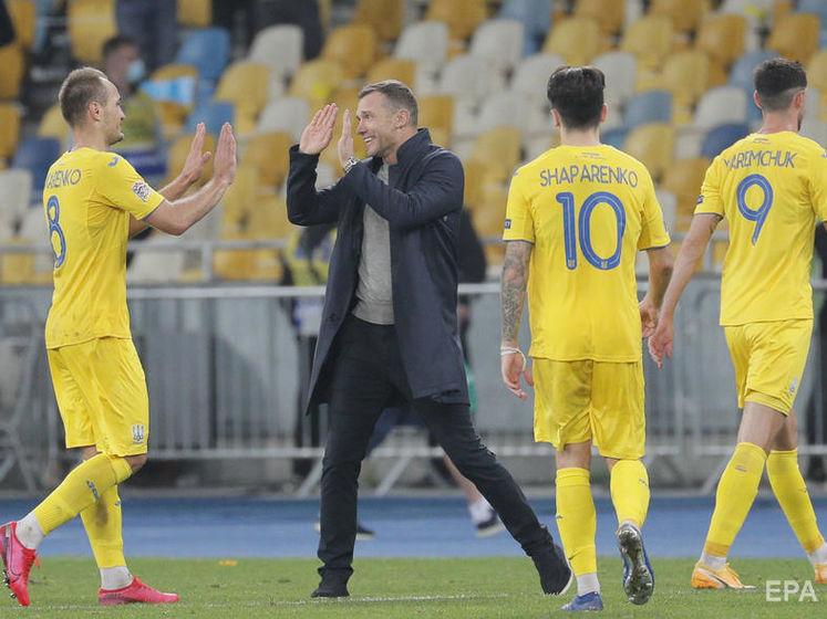 Україна піднялася в рейтингу ФІФА на 23-тю позицію