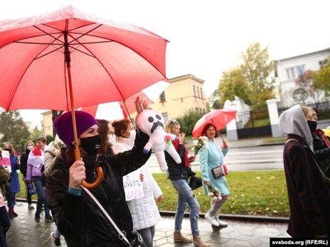 Массовые протесты из-за фальсификации результатов голосования на выборах президента в Беларуси продолжаются с 9 августа