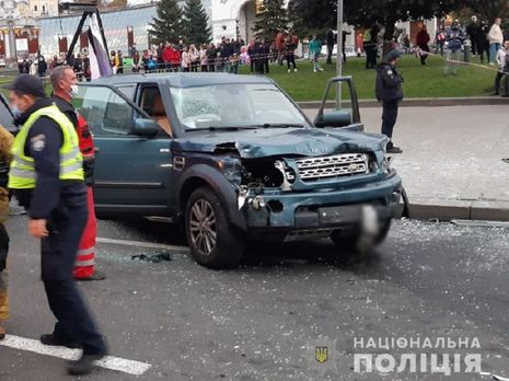 Инцидент произошел в центре Киева