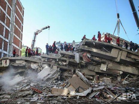 Землетрясение произошло 30 октября