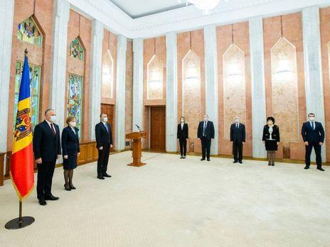 Новые министры приняли присягу
