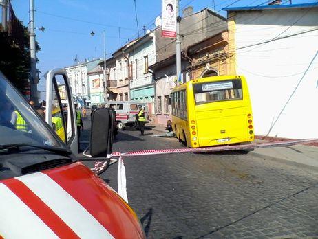 ВЧерновцах шофёр маршрутки насмерть сбил пешехода