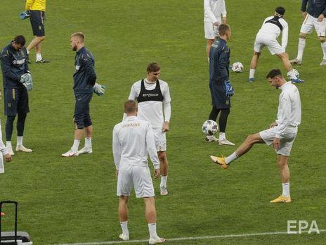 У четверых игроков сборной Украины и менеджера подтвердили COVID-19 перед матчем с Германией