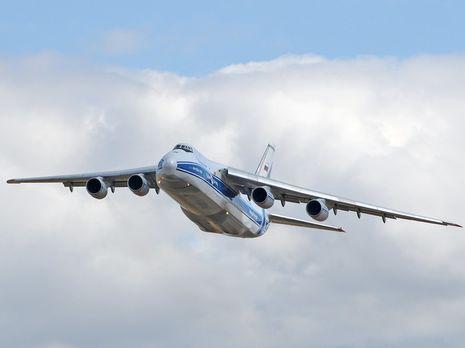 Сразу после взлета: у русского  самолета Ан-124 отказал мотор