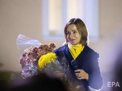 Санду станет первой женщиной на посту президента Молдовы