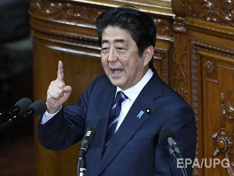 Абэ объявил оневозможности обговаривать Крым напереговорах поЮжным Курилам