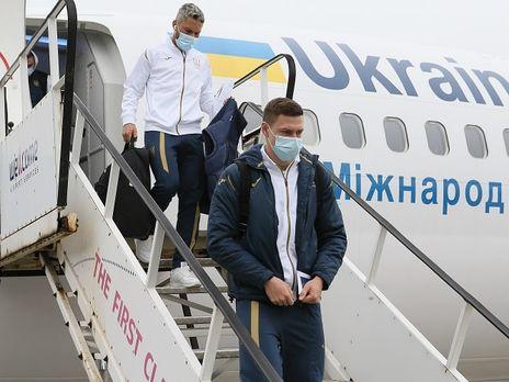 Делегация сборной Украины по прилету в Борисполь сдала тесты на COVID-19. Все результаты – отрицательные
