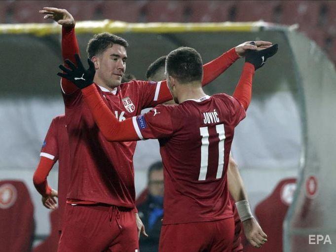 Після гри з Росією у сербського футболіста Йовича, який забив два м'ячі, виявили COVID-19