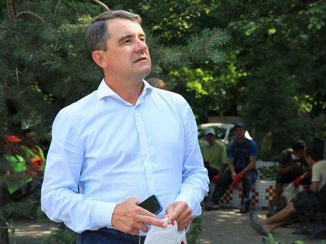 47-летний Лях был избран мэром Славянка в 2015 году