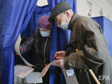 Явка на повторном голосовании на местных выборах 22 ноября по Украине составила 29,53%