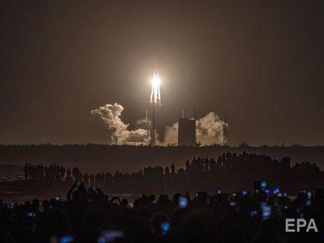 КНР  запустил ракету с прибором  «Чанъэ-5» для доставки грунта сЛуны