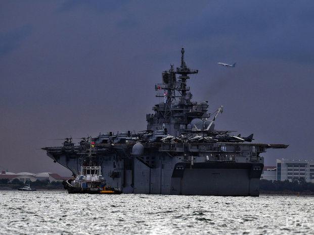 Минобороны РФ заявило о вторжении эсминца США в российские территориальные воды, ему пригрозили тараном