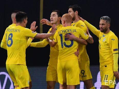 Сборной Украины присуждено поражение со счетом 0:3