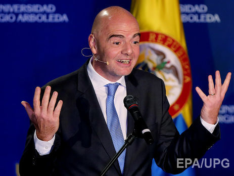Руководитель ФИФА объявил ожелании увеличить количество участниковЧМ до48