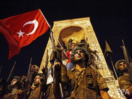 Попытка военного переворота в Турции произошла