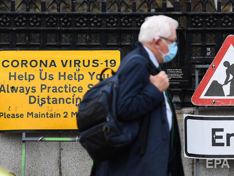В Великобритании более 1300 человек ошибочно получили положительный тест на COVID-19