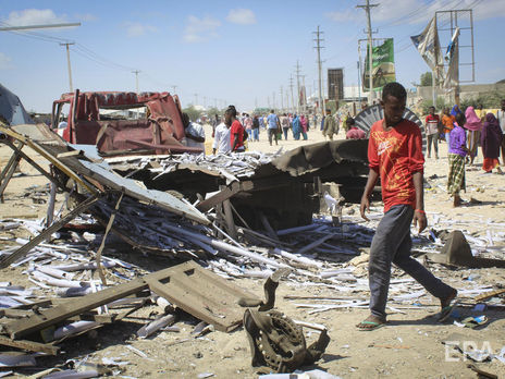 Теракт произошел в центре Могадишо