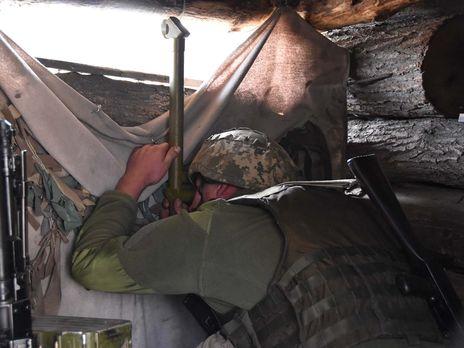 В штабе ООС подчеркнули, что украинские воины бдительности не теряют