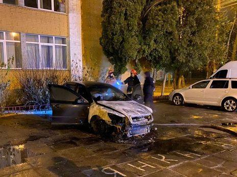 Автомобіль Skoda Octavia належав детективу Національного антикорупційного бюро України