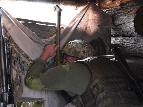 Украинским военнослужащим пришлось открывать ответный огонь, отметили в штабе ООС