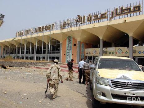 """Взрыв в аэропорту, по мнению властей Йемена, организовало хуситское движение """"Ансар Аллах"""""""
