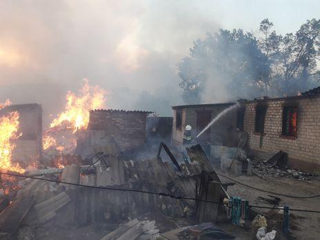 Во время пожаров в Двуречанском районе было уничтожено 25 домов