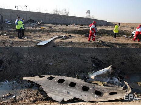 Делегация Украины выезжала на место авиакатастрофы