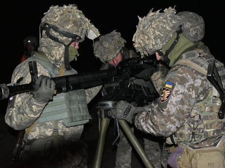 Обстановка в районе проведения операции Объединенных сил контролируема, заявили украинские военные
