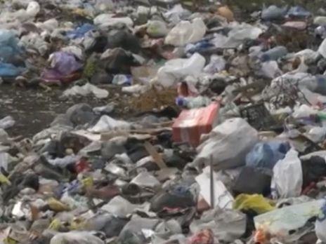 НаПолтавщине скандал из-за «львовской» свалки мусора