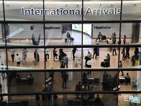Из-за пандемии коронавируса Великобритания изменила правила въезда в страну