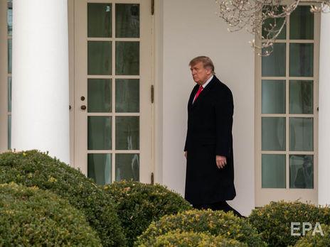 В Конгрессе сегодня снова попытаются объявить импичмент Трампу