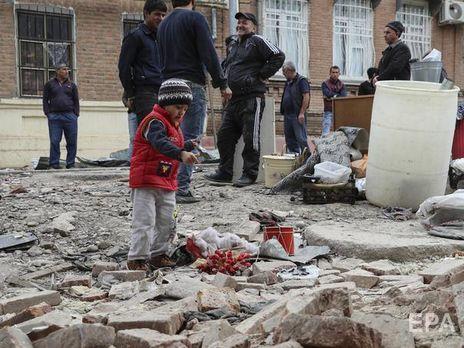 Amnesty International заявила, что и Армения, и Азербайджан использовали заведомо неточное и неизбирательное оружие в населённых мирными жителями районах