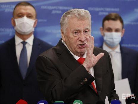 """Караулов вважає, що Жириновський (на фото) """"забрав на себе більшу частину маргіналів"""""""