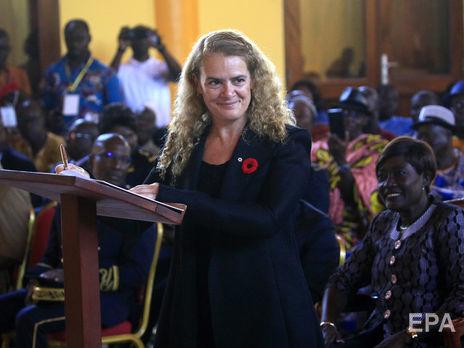 Пейетт была назначена генерал-губернатором Канады в 2017 году