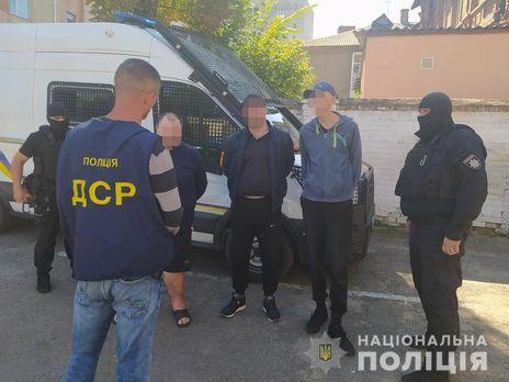 Все члены группы были задержаны, сообщили в полиции