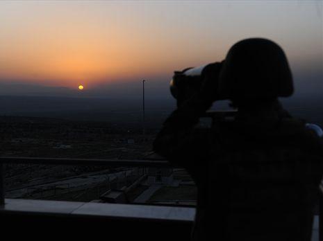 Боевиков задержали на границе с Сирией