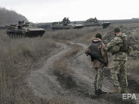 Среди украинских военных 27 января потерь не было, сообщили в штабе