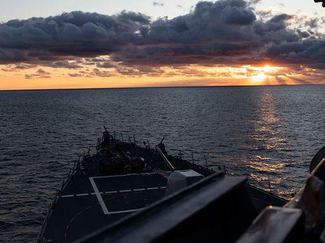 Кораблі флоту США регулярно проводять операції в Чорному морі