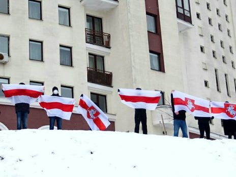 Протесты в Беларуси продолжаются с августа 2020 года
