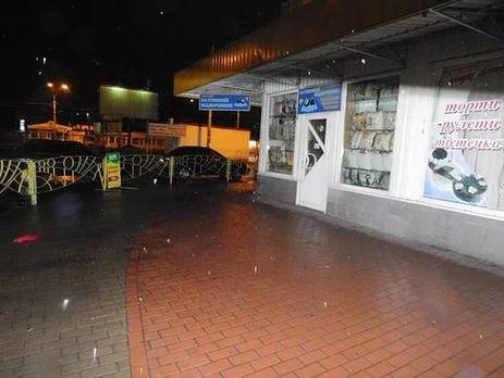 ВКиеве около метро «Петровка» мужчина стрелял внезнакомца