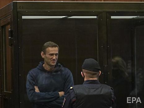 Навальный до этапирования в колонию будет содержаться под стражей