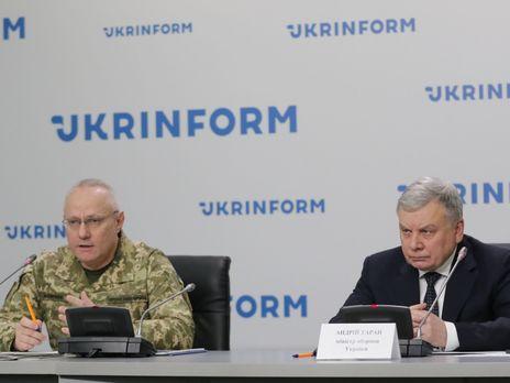 """Хомчак и Таран заверили, что хотя в процессе выполнения реформы ВСУ возникают """"трения и спорные вопросы"""", противоречий в разделении полномочий между Генштабом и Минобороны нет"""